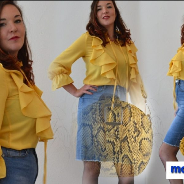 Blouse Happy Yellow