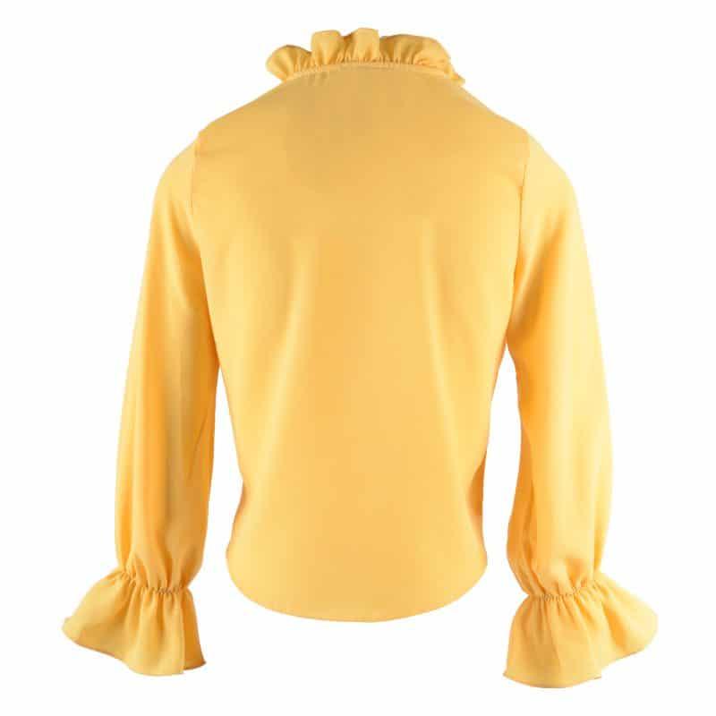blouse okergeel roesel