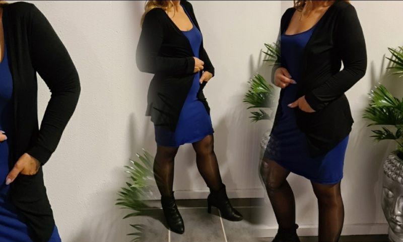 Vest black basic
