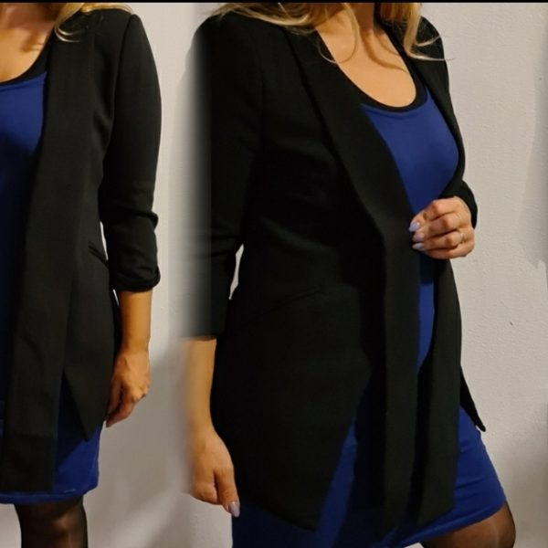 Blazer lovey black
