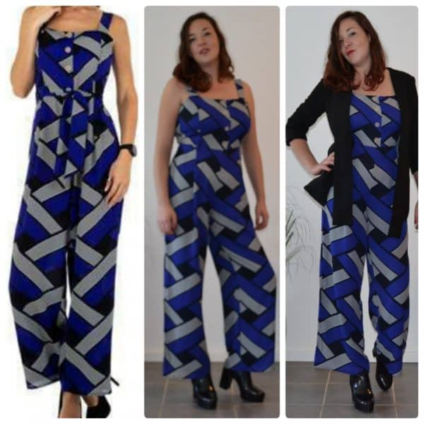 Jumpsuit Beauty blue