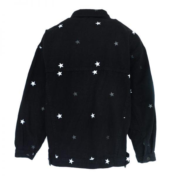 spijkerjas met sterren
