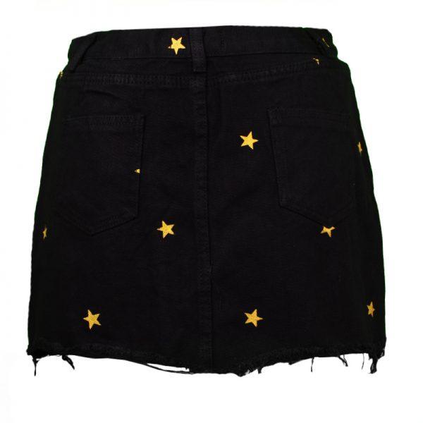 rokje met gouden sterren
