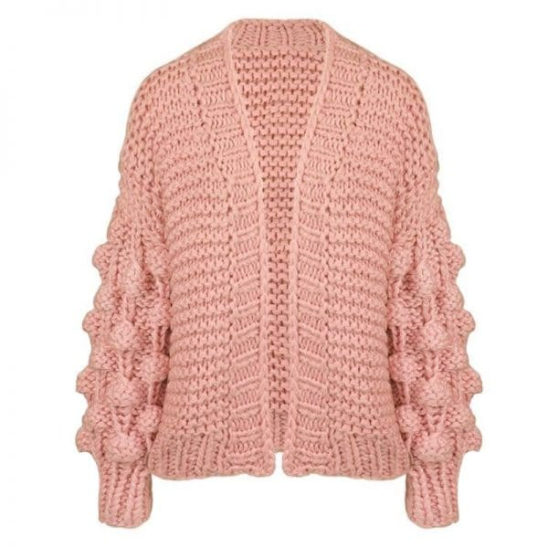 handmade vest oudroze